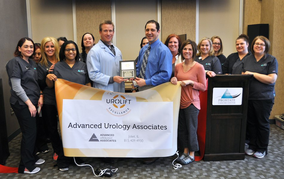 Advanced Urology Associates Announces Designation as a UroLift Center of Excellence Led by Dr. Gregory J. Andros