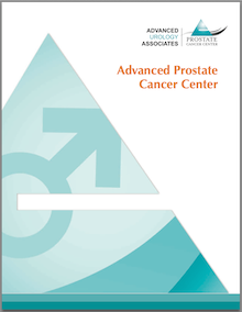 Advanced Prostate Cancer Center Patient Education pamphlet from Advanced Urology Associates