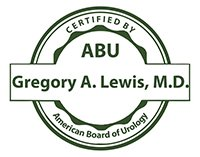 Board Certified Physician Dr. Gregory Lewis at Advanced Urology Associates