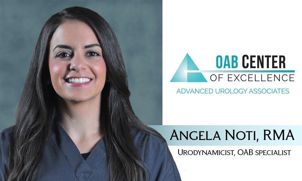 Angela Noti, RMA Urodynamics, OAB Specialist