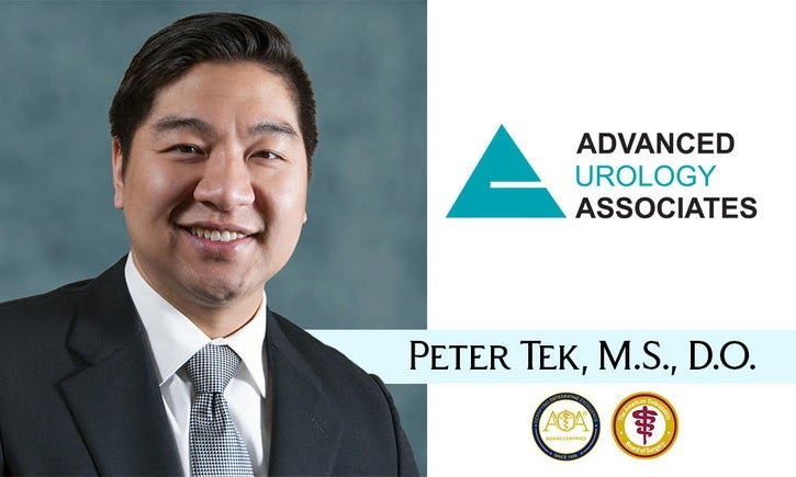 Dr. Tek Board Certified Urologist at Advanced Urology Associates
