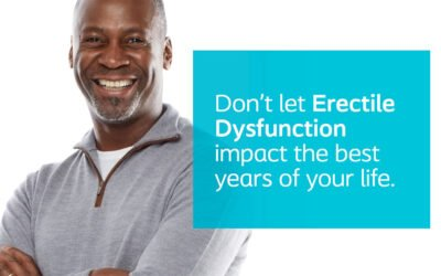 Don't let Erectile Dysfunction impact the best years of your life