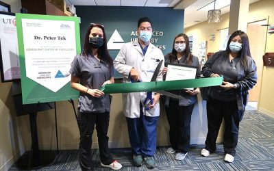 Dr. Peter Tek Designated as a Center of Excellence for GreenLight™ Laser Therapy, a Treatment for Benign Prostatic Hyperplasia (BPH), or Enlarged Prostate