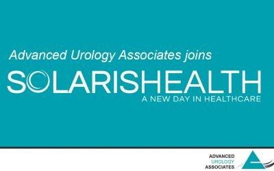 Advanced Urology Associates (AUA) Joins Solaris Health, Nation's Largest Urological Services Provider